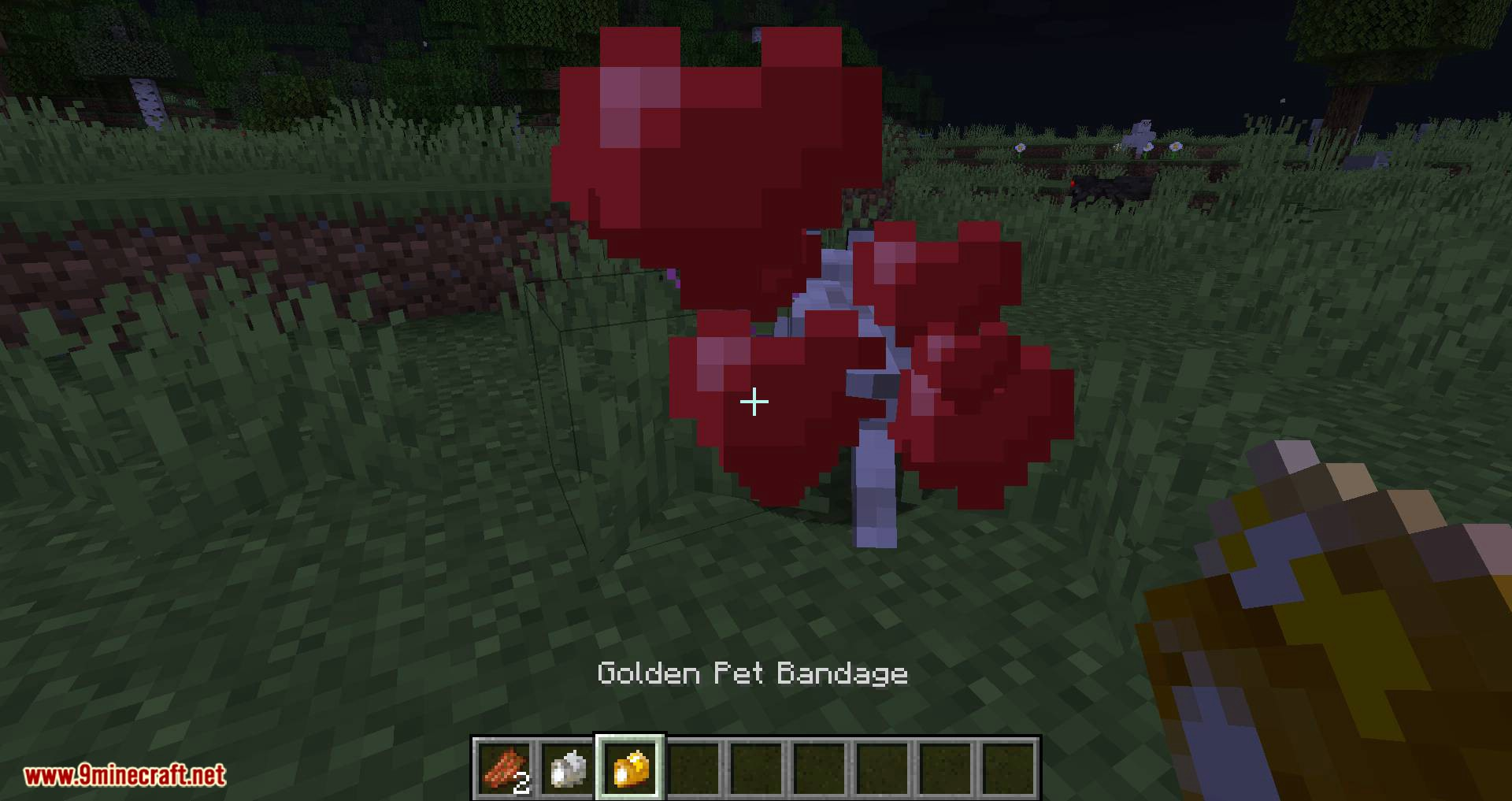 Save your pets mod for minecraft 09