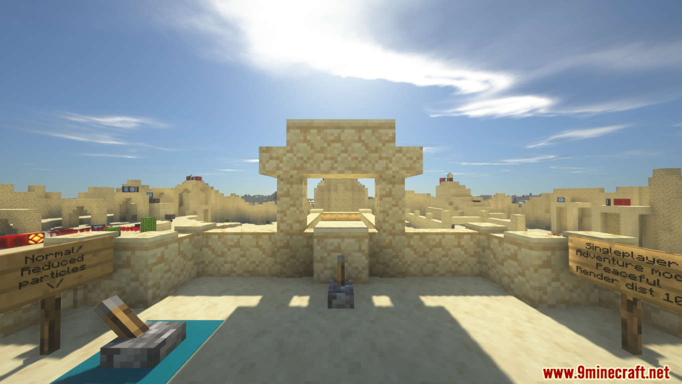 The Mirage Site Map Screenshots (1)