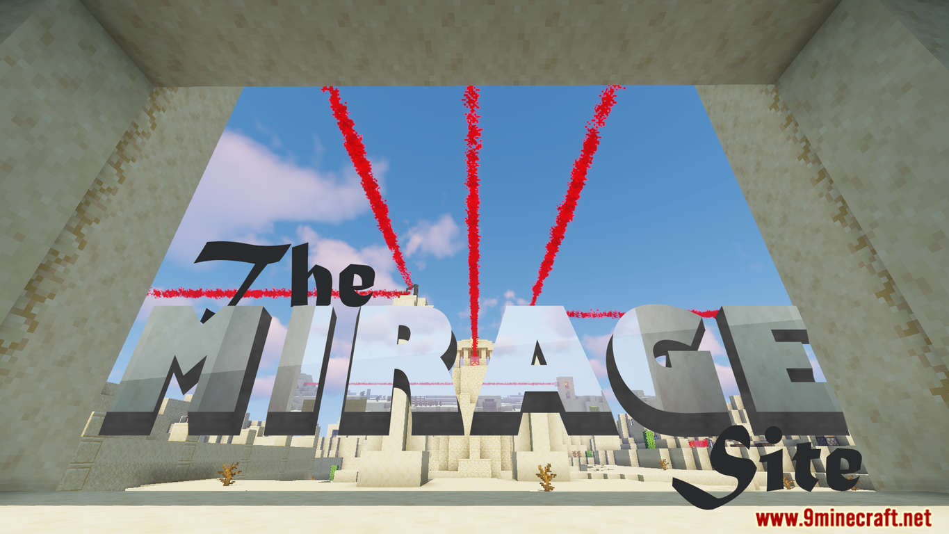 The Mirage Site Map Thumbnail