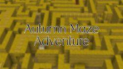Autumn Maze Adventure Map Thumbnail