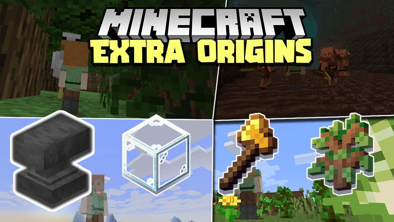 Extra Origins Mod 1.17/1.16.5