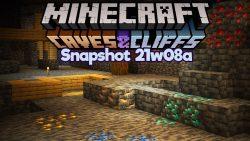 Minecraft 1.17 Snapshot 21w08a
