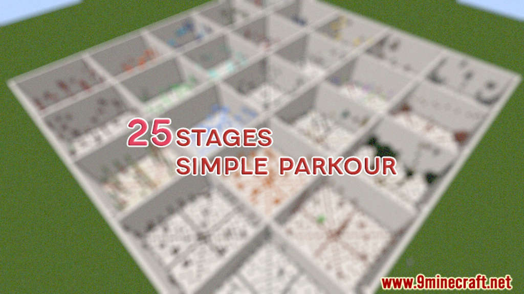25 Stages of Simple Parkour Map Thumbnail