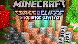 Minecraft 1.17 Snapshot 21w17a