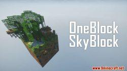 One Block Skyblock Map Thumbnail