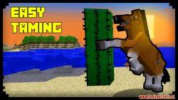 Easy Taming Minecraft Data Pack Thumbnail