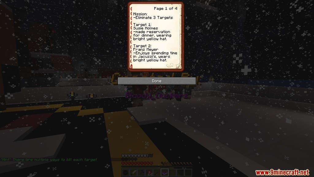 Christmas Party Hitman Map Screenshots (2)