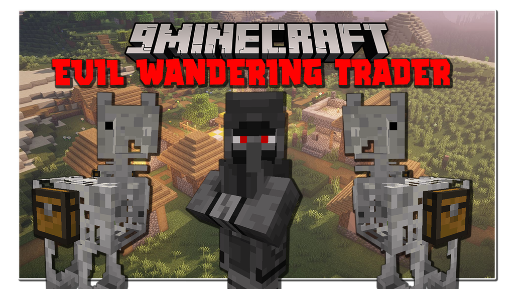 Evil Wandering Trader Mod 1.16.5