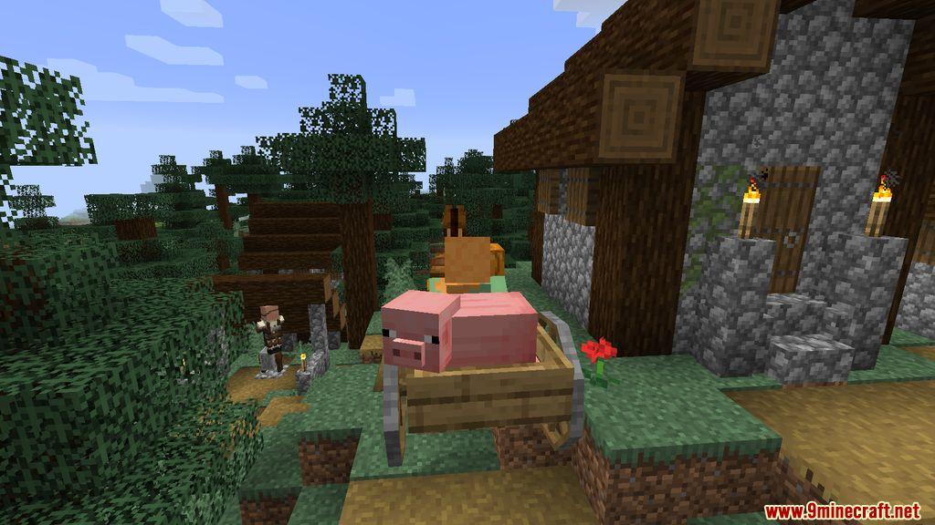 Horse Carts Mod Screenshots 9