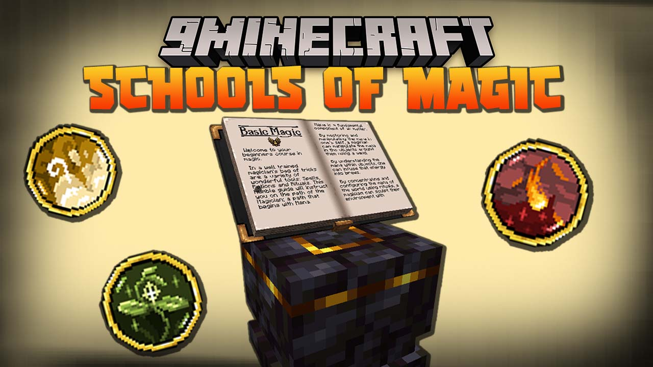 Schools of Magic Mod