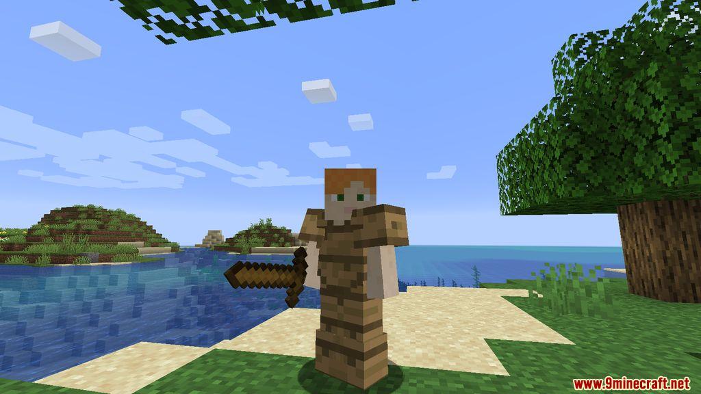 Wooden Stone Armors Mod Screenshots 1
