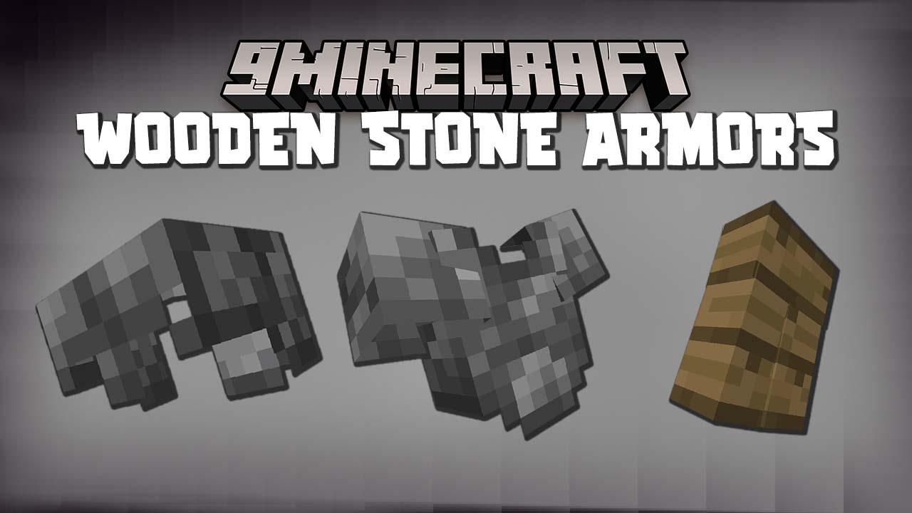 Wooden Stone Armors Mod