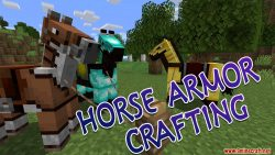 Horse Armor Crafting Data Pack Thumbnail