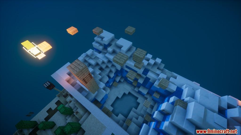 Minecraft Pyramid Parkour Map Screenshots (5)