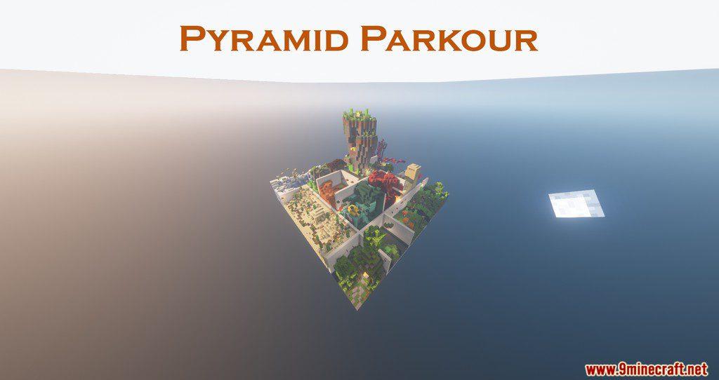 Minecraft Pyramid Parkour Map Thumbnail