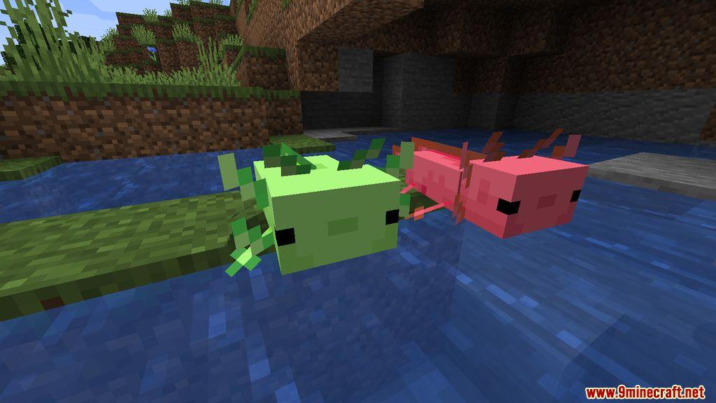 More Axolotls Mod Screenshots 1