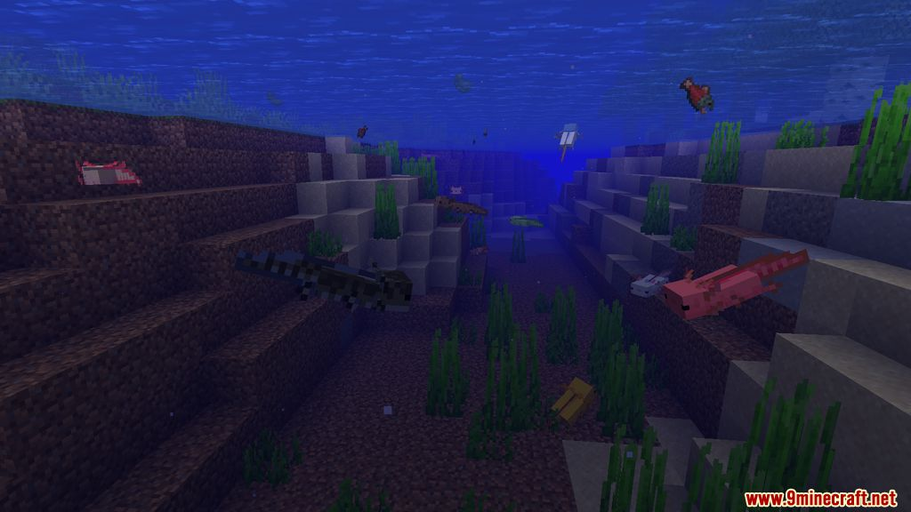 More Axolotls Mod Screenshots 10