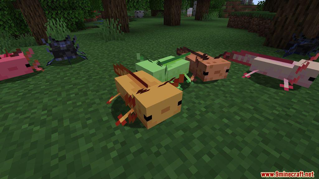 More Axolotls Mod Screenshots 2
