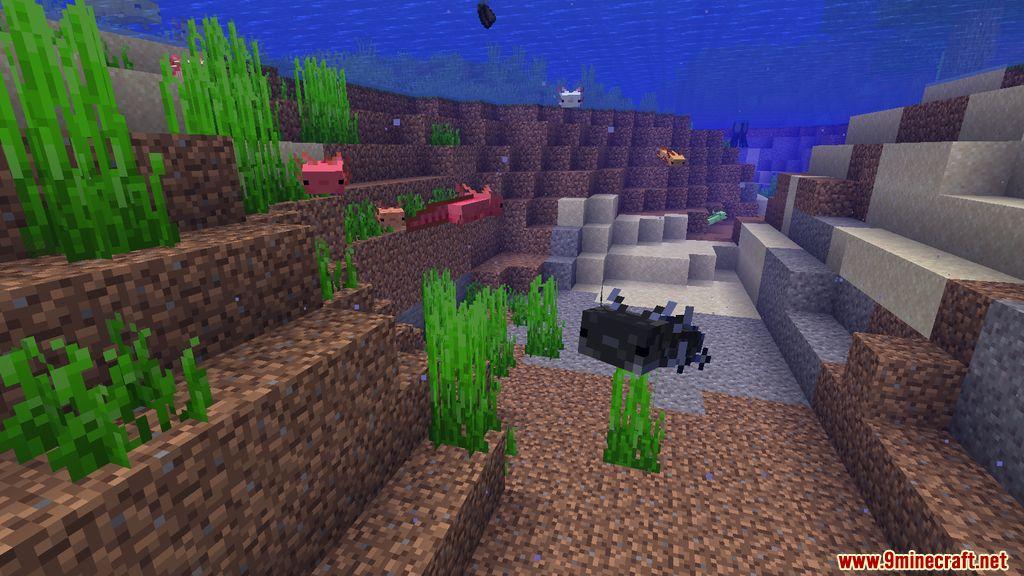 More Axolotls Mod Screenshots 4