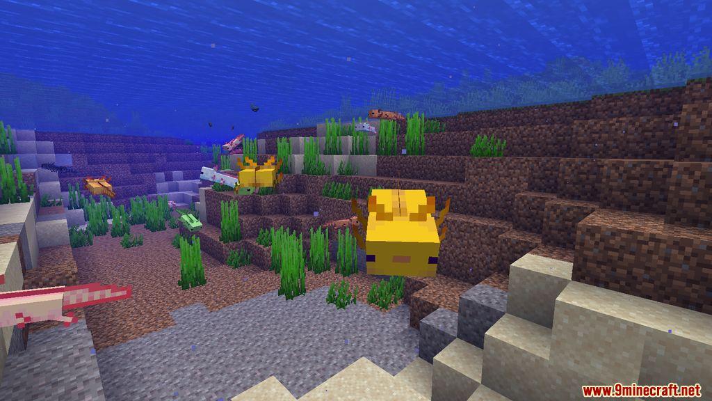 More Axolotls Mod Screenshots 6