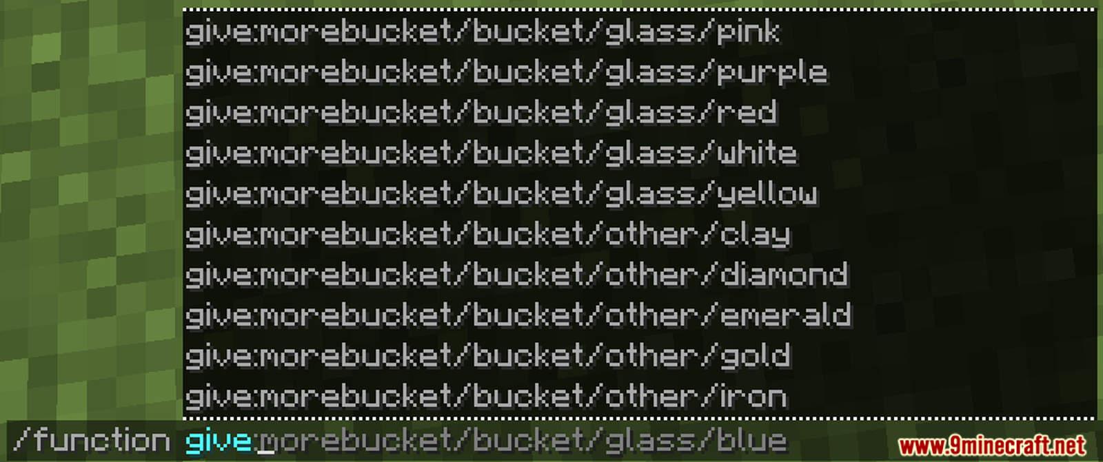 More Buckets Data Pack Screenshots (3)