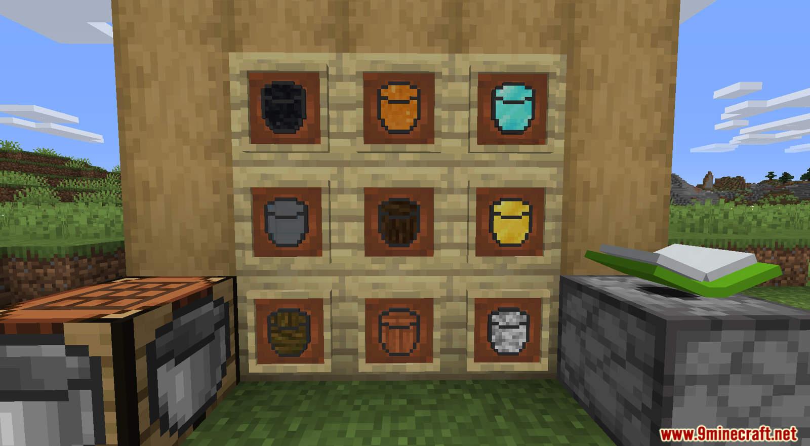 More Buckets Data Pack Screenshots (6)