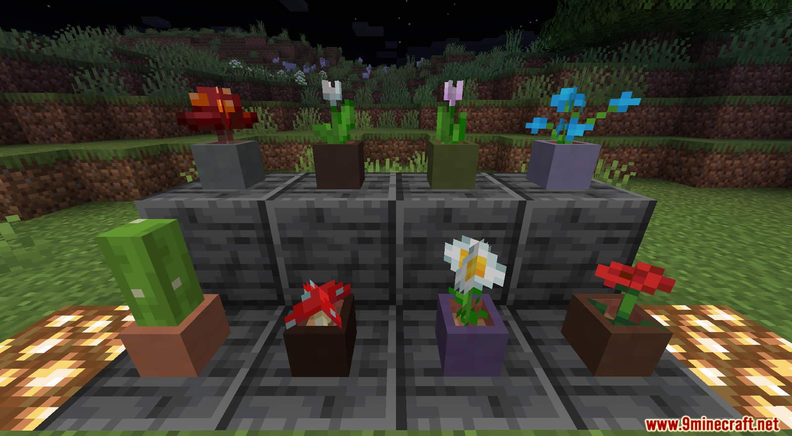 More Flower Pots Data Pack Screenshots (1)