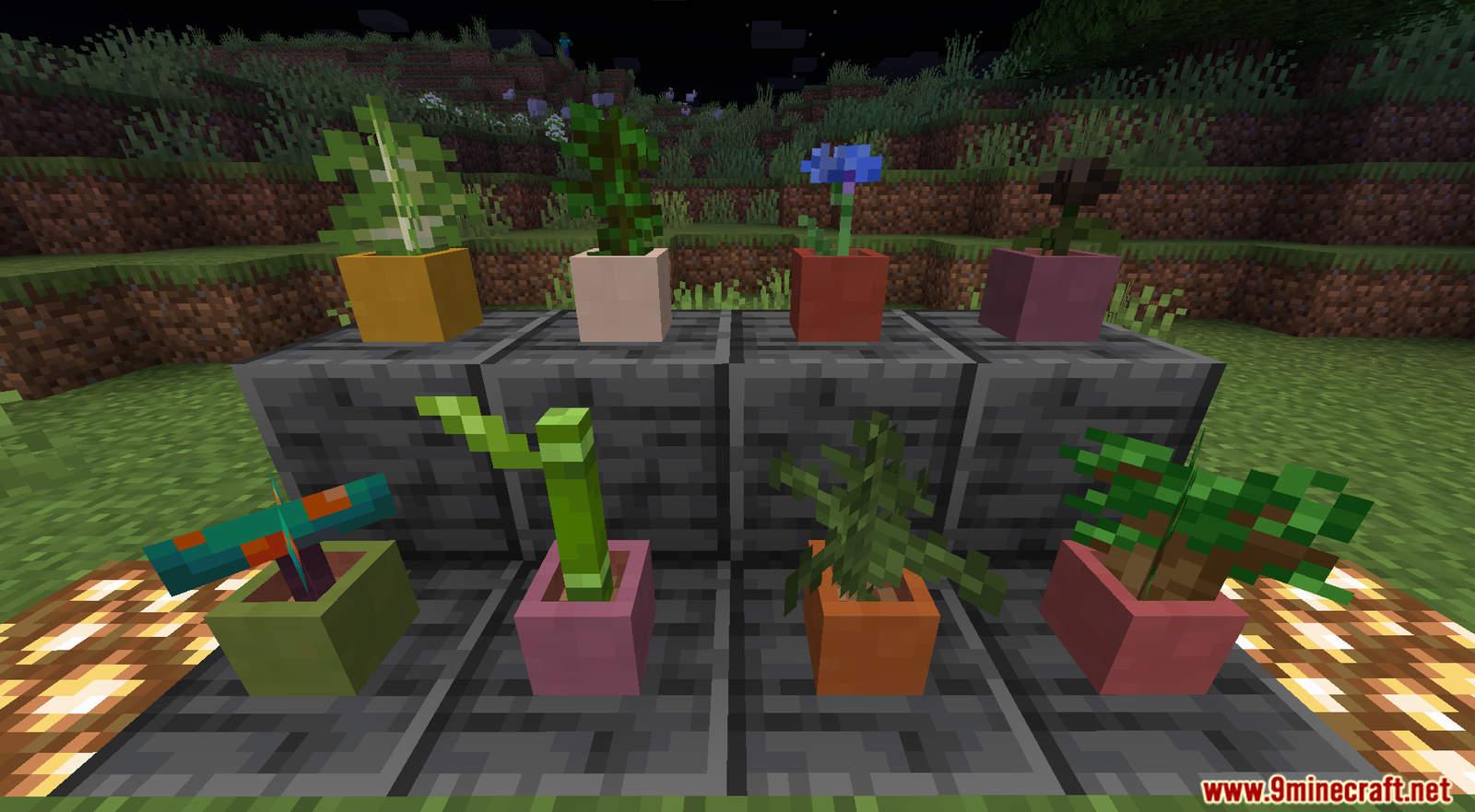 More Flower Pots Data Pack Screenshots (2)