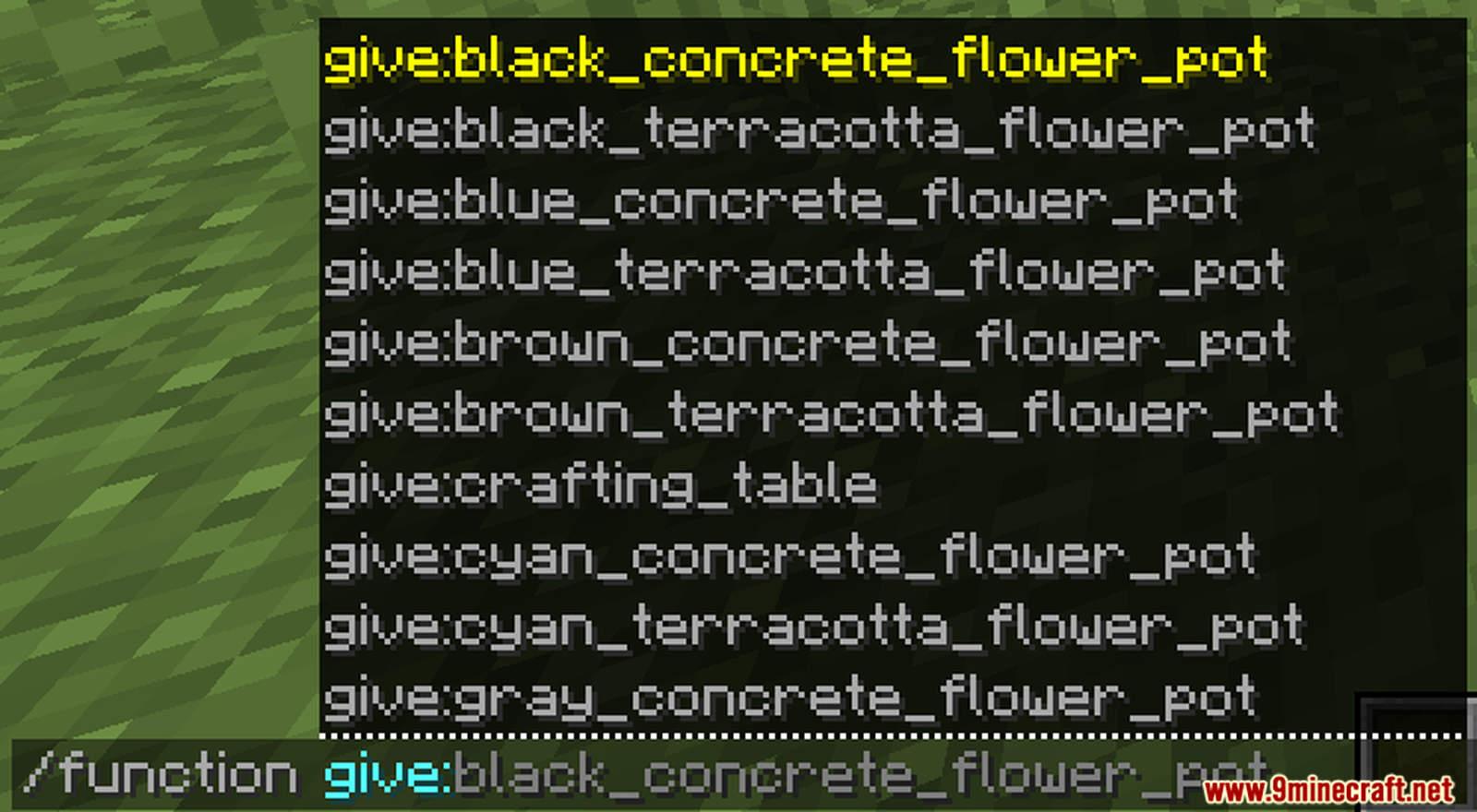 More Flower Pots Data Pack Screenshots (6)