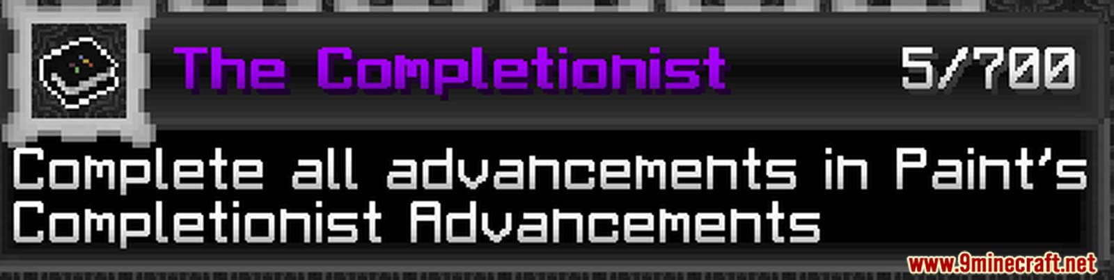 Paint's Completionist Advancements Data Pack Screenshots (5)