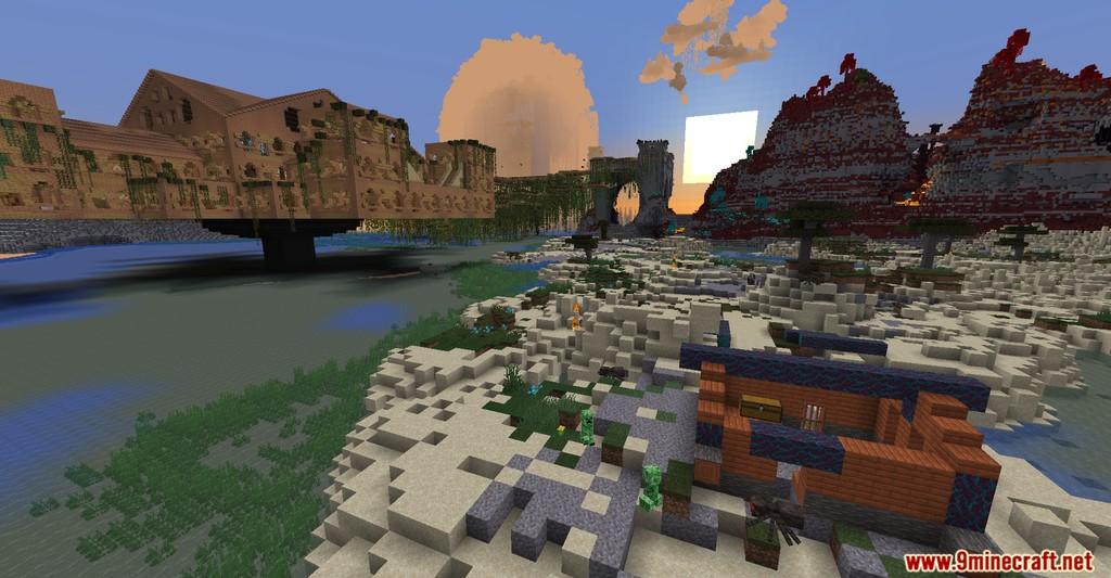 Scavanna's Sphere Map Screenshots (10)