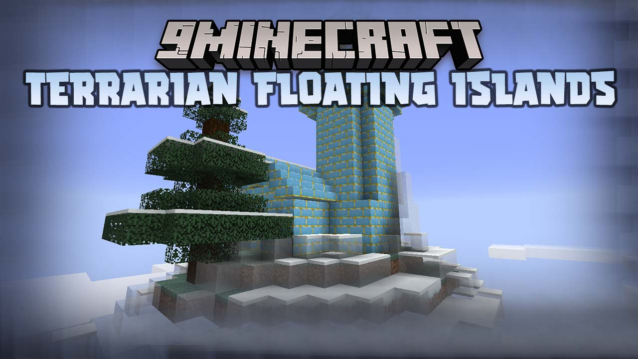 Terrarian Floating Islands Mod 1.16.5