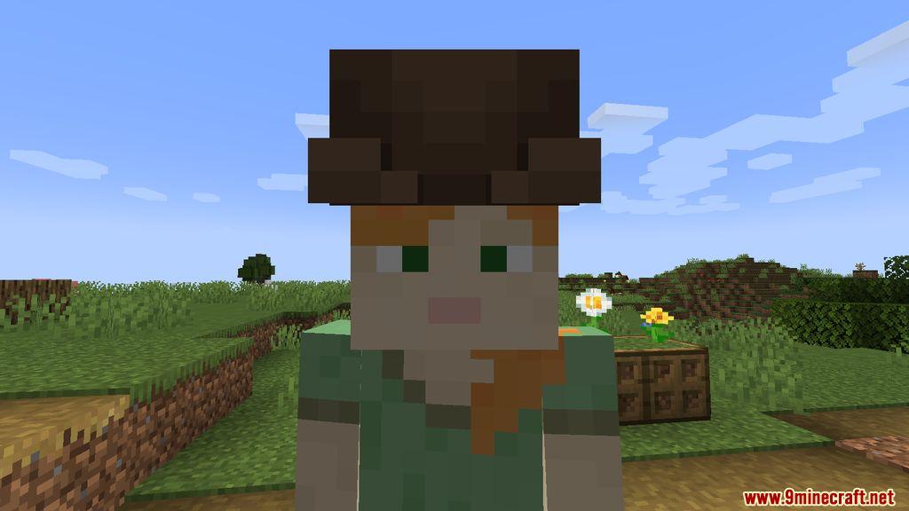Villager Hats Mod Screenshots 1