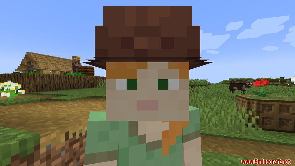 Villager Hats Mod Screenshots 4