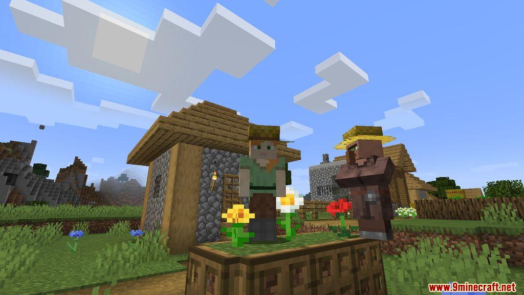 Villager Hats Mod Screenshots 7