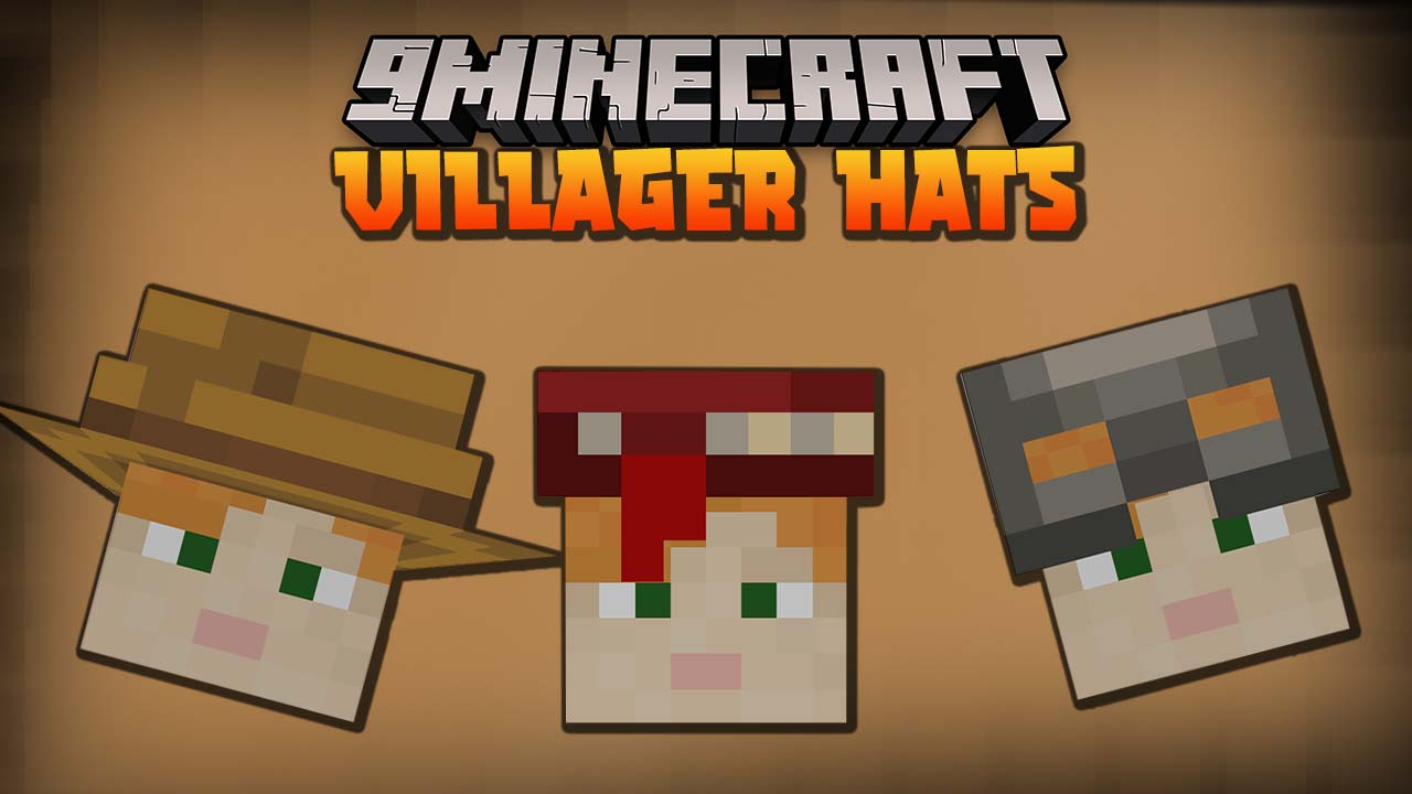 Villager Hats Mod