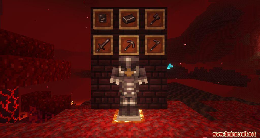 Advanced Netherite mod Screenshots 1