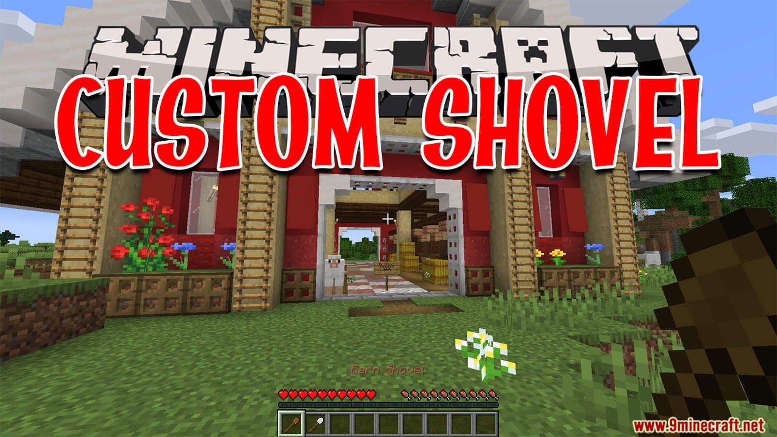 Custom Shovel Data Pack Thumbnail