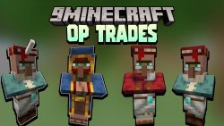 Minecraft But Villager Trades are OP Data Pack Thumbnail