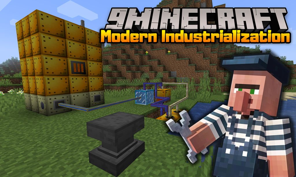 Modern Industrialization mod for minecraft thumb