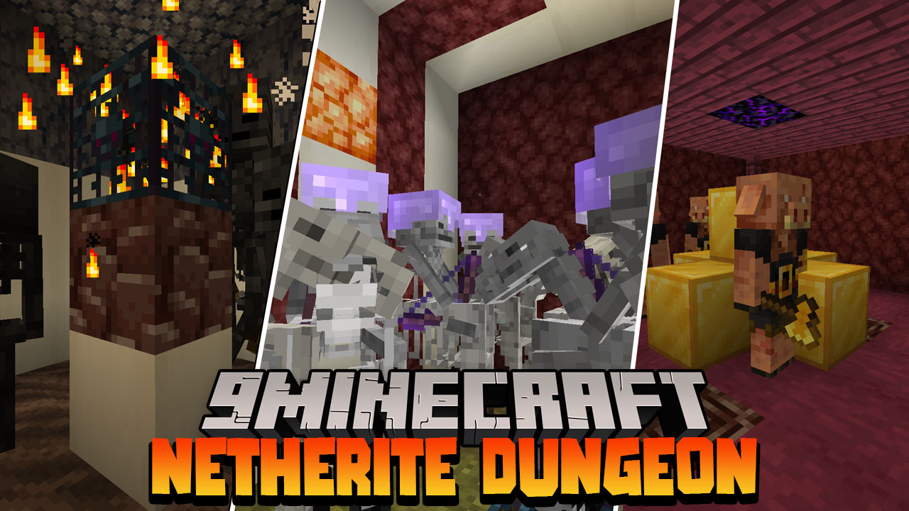 Netherite Dungeons Data Pack Thumbnail