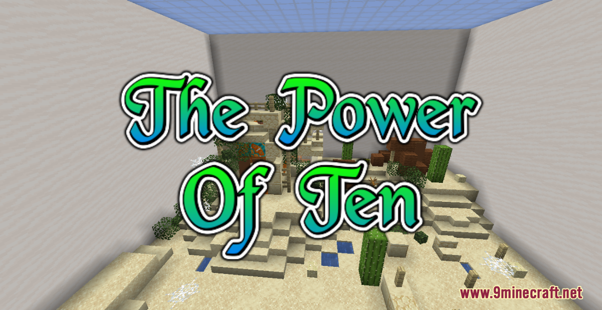 Power of Ten Map