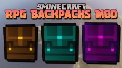 RPG backpacks Mod thumbnail