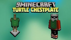 Turtle Chestplate Data Pack Thumbnail