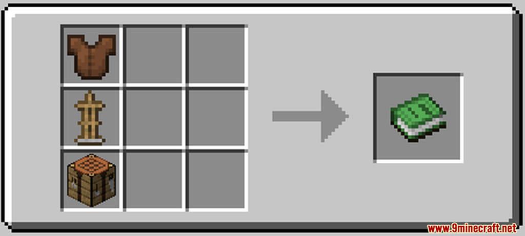 Yemis Crafter Data Pack Crafting Recipe
