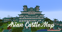 Asian Castle Map