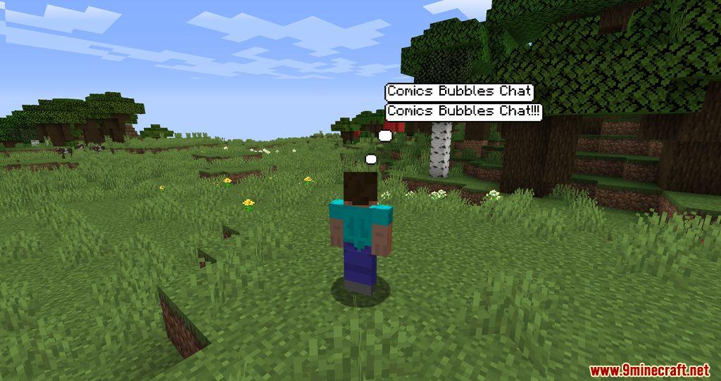 Comics Bubbles Chat mod screenshots 01