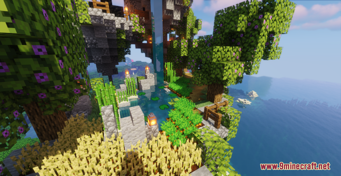 Floating Island Base Screenshots (9)