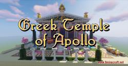 Greek Temple of Apollo Map