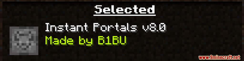 Instant Portals Data Pack Screenshots (1)